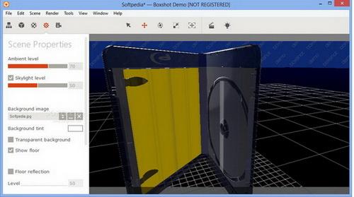 boxshot (64bit) 4.9(3D包装图像设计) - 截图1