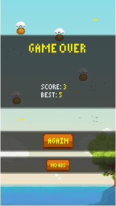 香蕉火箭猴(空中火猴) v1.0 for Android安卓版 - 截图1