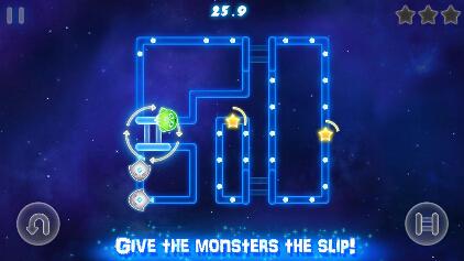 荧光怪物(收集星星) v1.0.7 for Android安卓版 - 截图1