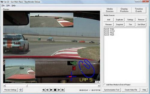 RaceRender 3.1.8(视频处理器) - 截图1