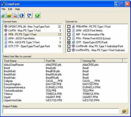 CrossFont 7.0(字体编辑专家) - 截图1