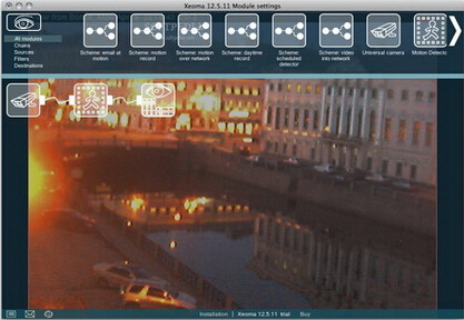 Xeoma(64bit) 15.6.26(视频监控直播软件) - 截图1