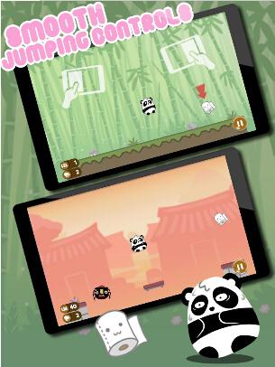 跳跃熊猫冒险(熊猫助手) v1.0.0 for Android安卓版 - 截图1