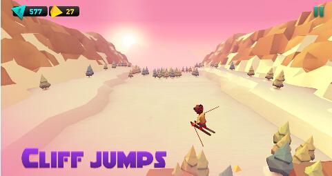 滑雪大冒险(极地滑雪) v1.0.6 for Android安卓版 - 截图1
