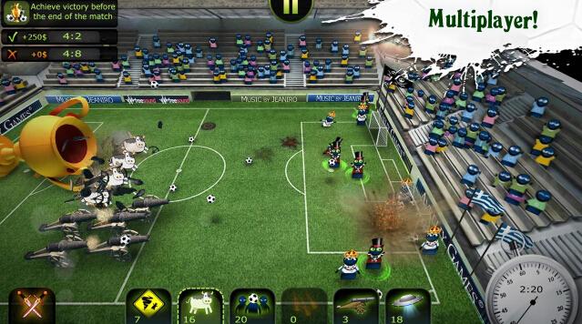 足球联盟(疯狂足球) v1.0.1 for Android安卓版 - 截图1