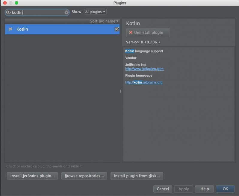 使用Kotlin开发Android应用(2):创建新工程