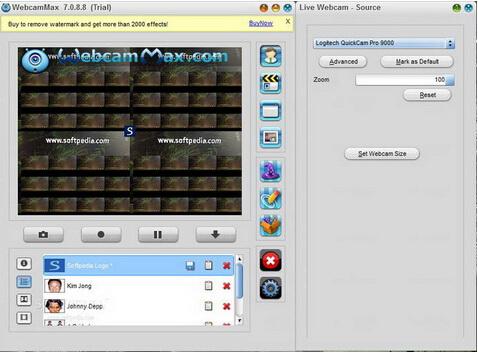 WebcamMax 7.9.3.6(视频聊天特效软件) - 截图1