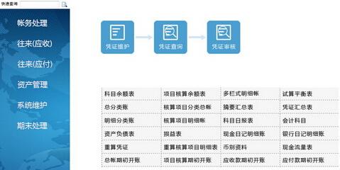 强新财务管理系统3.35(财务管理专家)免费/单机/互联网版 - 截图1