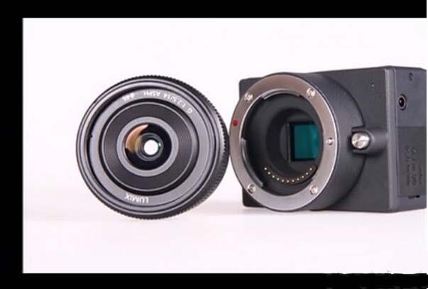 全世界配置可拆卸镜头的最小的4K相机