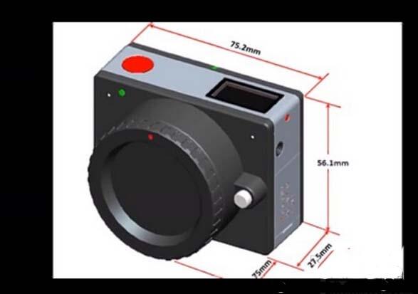 全世界最小可换镜头4K相机1