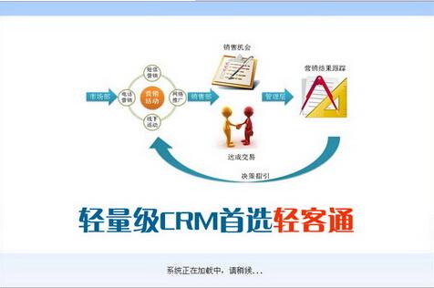 轻客通电话营销客户管理系统软件 2.102(电话营销助手) - 截图1