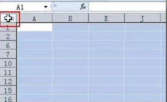 Excel批量取消行列隐藏方法