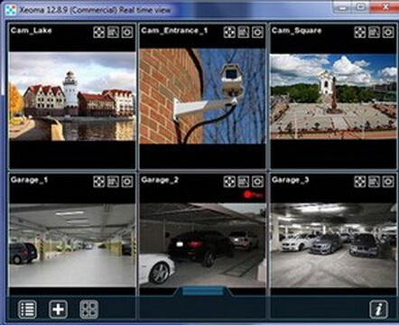 Xeoma 15.7.22(视频监控工具) - 截图1