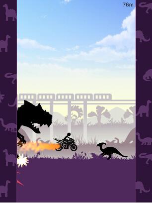 火柴人逃离侏罗纪(侏罗纪逃脱) v1.0 for Android安卓版 - 截图1