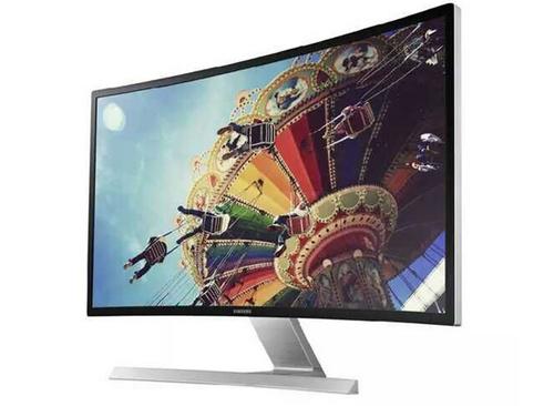 三星电脑 曲面显示器 27英寸S27D590C 液晶MVA护眼屏幕DP内置音箱?2299马上拥有