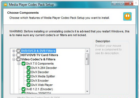 Media Player Codec Pack,视频音频解码器,解码器