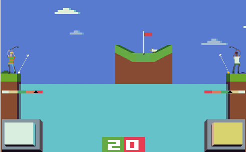 战斗高尔夫(疯狂高尔夫) v1.2 for Android安卓版 - 截图1