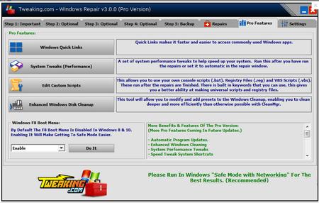 Windows Repair 3.6官方免费版(故障扫描修复工具) - 截图1