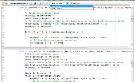 Convert.NET V7.4.5763绿色版(代码转换翻译工具) - 截图1