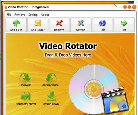 Video Rotator V1.0.7官方版(视频处理) - 截图1