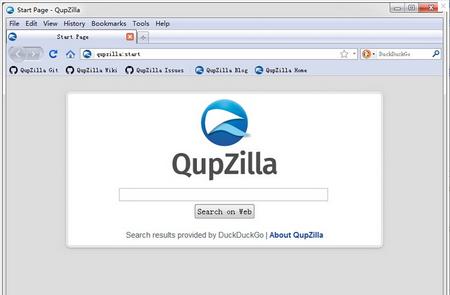 QupZilla浏览器 V1.8.9官方中文版(轻量级浏览器) - 截图1