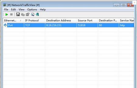 NetworkTrafficView X64 V2.01 免费中文版(网络监视) - 截图1