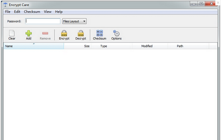 Encrypt Care V1.1官方免费版(文件加密工具) - 截图1