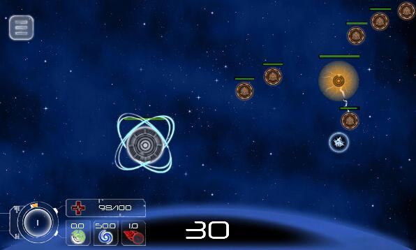 守卫星球(星球战士) v1.4 for Android安卓版 - 截图1