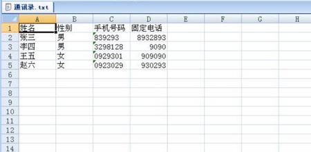 文本转换表格的方法