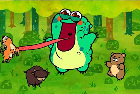 贪食蛙(怪蛙来袭) v1.8 for Android安卓版 - 截图1