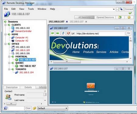 Remote Desktop Manager V11.0.16.0官方企业版(远程管理工具) - 截图1