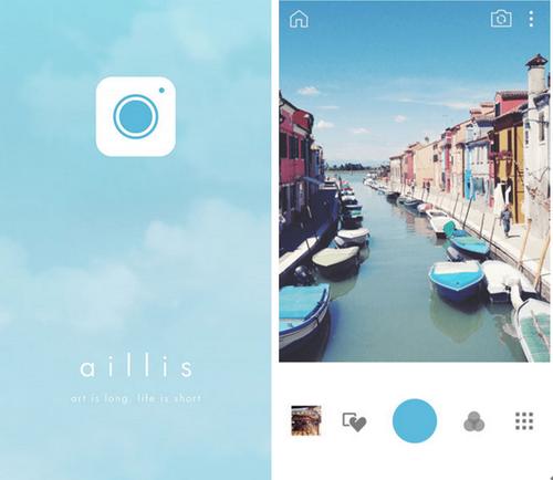 aillis相机 for iPhone(照片编辑) - 截图1