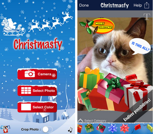 Christmasfy for iPhone(圣诞装饰) - 截图1
