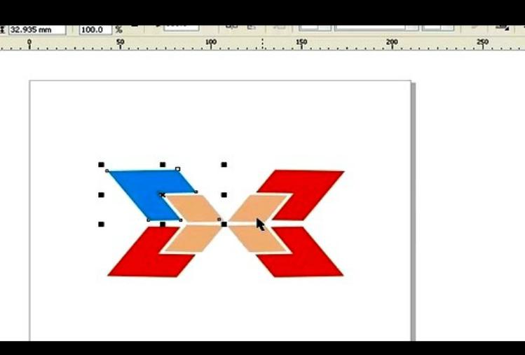 CorelDRAW教程-可爱娃娃指示牌的制作
