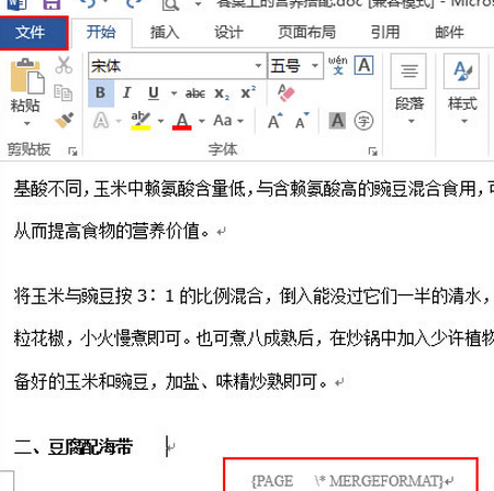 怎么解决word2013乱码问题?