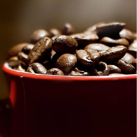 咖啡豆手机壁纸