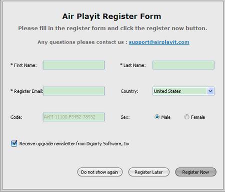 Air Playit V2.0.0.0官方版(跨平台媒体播放) - 截图1