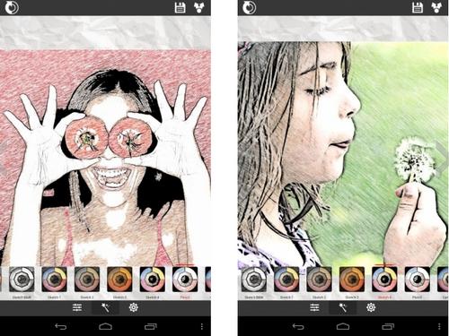照片变素描 V1.63官方版for android(照片处理) - 截图1