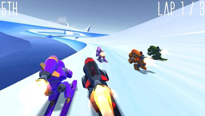 火箭滑雪(疯狂滑雪) v1.0.1 for Android安卓版 - 截图1