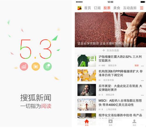搜狐新闻 v5.4.1for iPhone(实时新闻) - 截图1