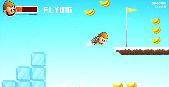 猴子大冒险(超级玛丽猴) v1.0 for Android安卓版 - 截图1