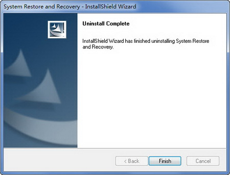 System Restore and recovery