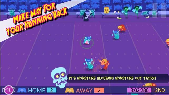 周一怪物之夜(怪物橄榄球) v1.0 for Android安卓版 - 截图1