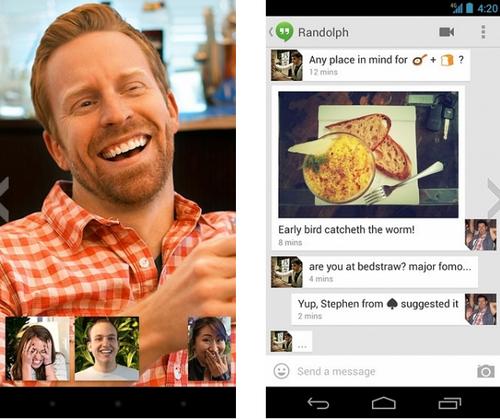 环聊Hangouts V7.0.113001250官方版for android(手机社交) - 截图1