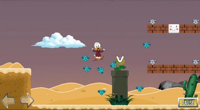 小鸭命运沙漠(小鸭冒险) v1 for Android安卓版 - 截图1