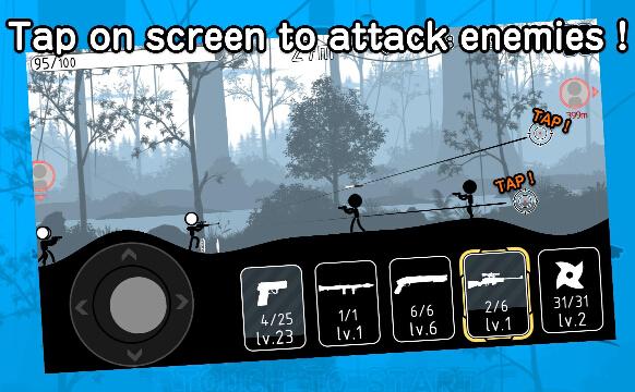 火柴人神枪手(枪林弹雨) v3.0.0 for Android安卓版 - 截图1