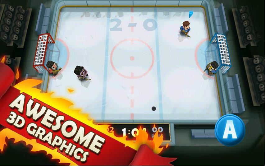 热血冰球(冰上战士) v1.0.20 for Android安卓版 - 截图1