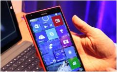 微软win10系统预览版目前只提供低端手机机型