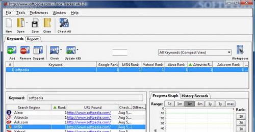 Rank Tracker 7.2.5(关键字查询) - 截图1