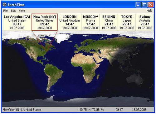 EarthTime 5.2.0(世界时钟) - 截图1